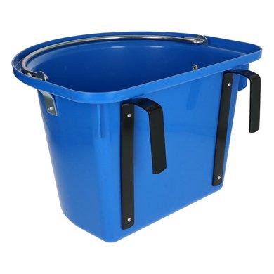 Kerbl Turnier-Futterkrippe Einhängebügel Tragegriff Blau 12L