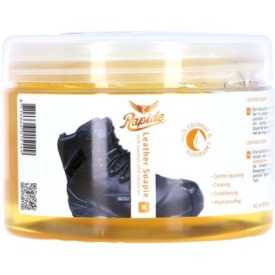 Rapide Saddle Soap Leather Soapie with Sponge Blank 500ml