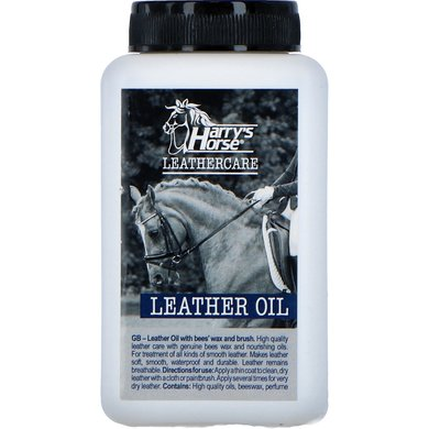 Harrys Horse Leather Oil+bees'wax+brush,500 500ml