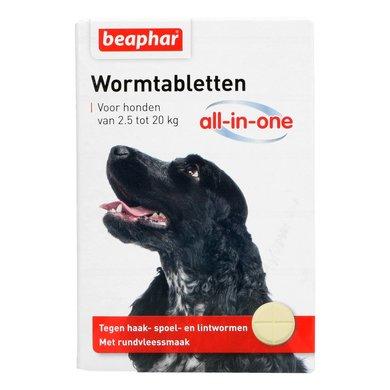 Beaphar Wormtabletten All-in-One Hond 2,5 -20kg 2st