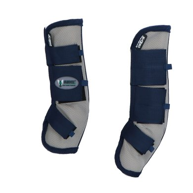 Rambo Flyboots Fly Airmesh Vamoose Silver/Blue