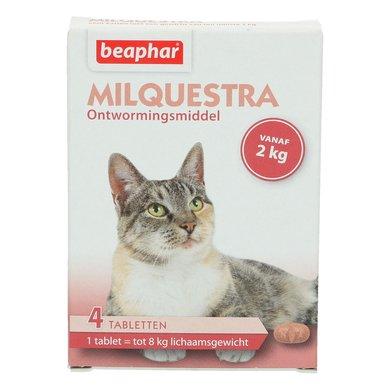 Beaphar Milquestra Wormtablet Kat 2-12kg 4st