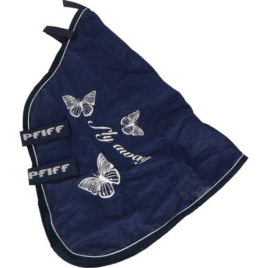 Pfiff Fly Neck Cover Print Blue