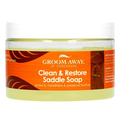Groom Away Clean&Restore Saddle Soap 400g