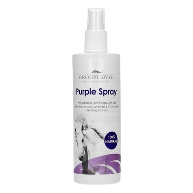 Groom Away Purple Spray Preventief  Herstellend 300ml