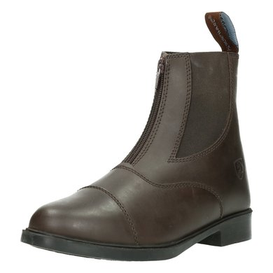 Horseware Short Riding Boot Zip Kids Brown 28