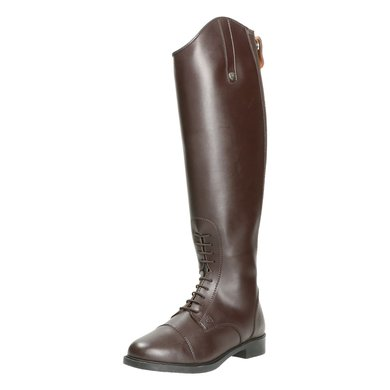 Horseware Long Riding Boot Leather Dames Wide Brown 36