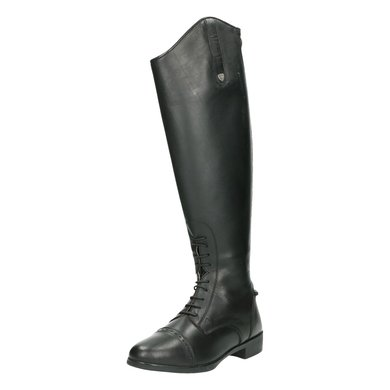 Horseware Long Riding Boot Leather Dames Wide Black 38