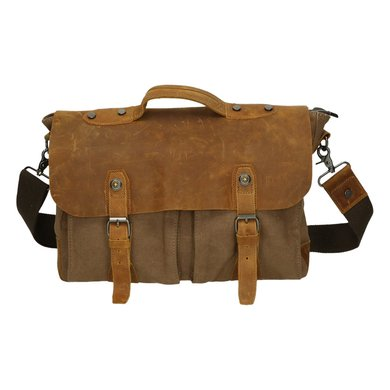 Scippis Westfield messenger bag Bruin OneSize