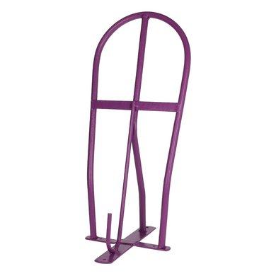 Shires Saddle Carrier Rack Purple