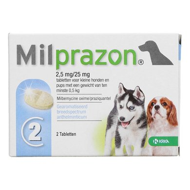 Milprazon Dewormer Dog