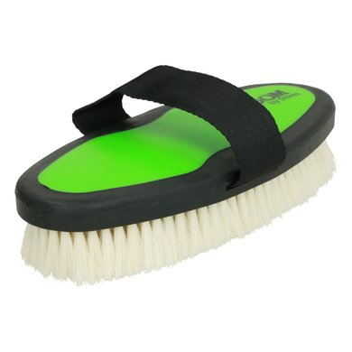 Ezi Groom Body Brush with Goat Hair Lime Green L