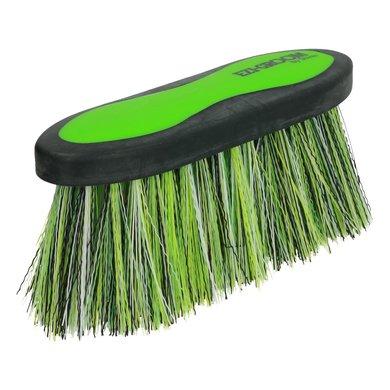 Ezi Groom Dandy Brush Long Bristle Lime Green L
