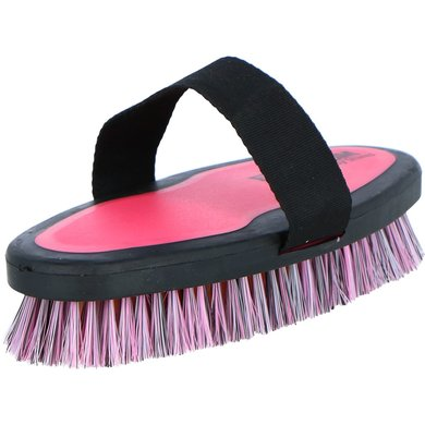 Ezi Groom Body Wash Brush Bright Pink L