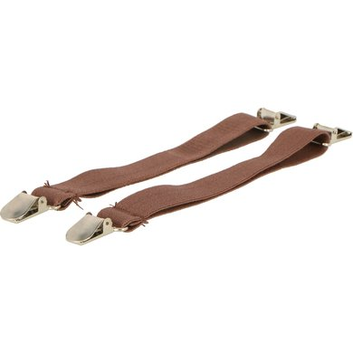 Shires Jodhpur Clip Elastisch Brown