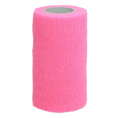 Shires Cohesive Bandages Pink 10cm