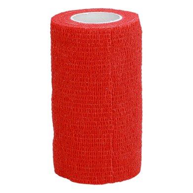 Shires Zelfklevende Bandages Red 10cm