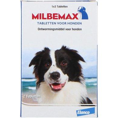 Milbemax Ontwormingstablet Hond Groot 2 Tabletten 5-75kg