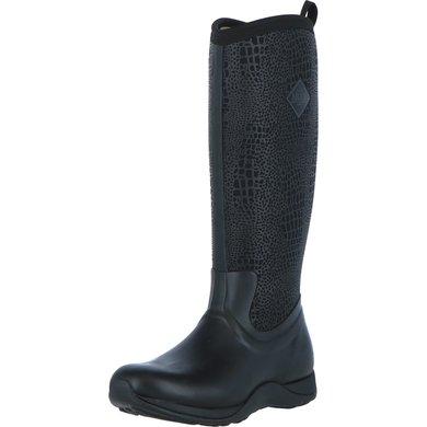 Muck Boot Arctic Adventure Black/Croc Print