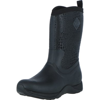 Muck Boot Arctic Weekend Black/Croc Print