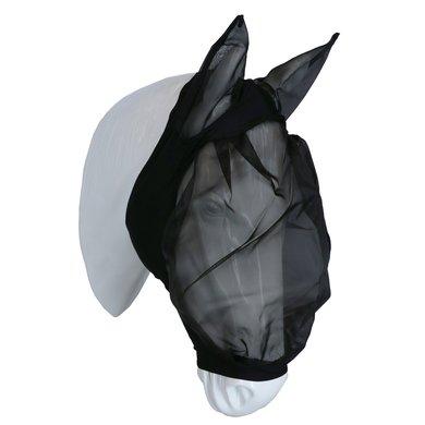 EQUITHÈME Vliegenmasker Lycra Zwart M
