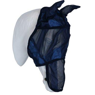 EQUITHÈME Vliegenmasker Verfrissend Navy/Blauw/Wit Pony