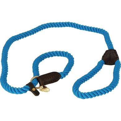 Digby & Fox Sliplijn Gedraaid Blauw One Size