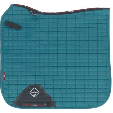 LeMieux Saddle Cloth DR ProSport Suede Sq Peacock Green L