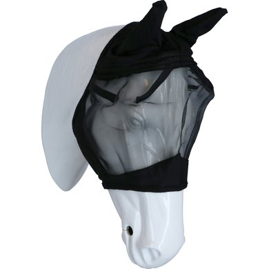 EQUITHÈME Vliegenmasker Rip-Stop Zwart Cob