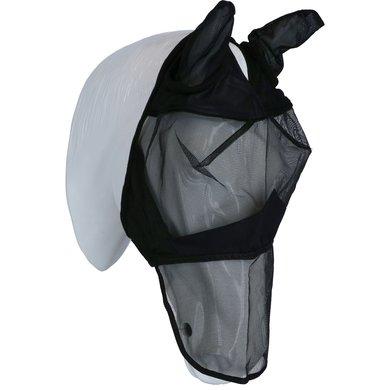EQUITHÈME Vliegenmasker Zwart Shetland