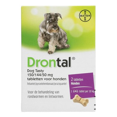 Drontal Dog Tasty Ontwormingstablet Hond