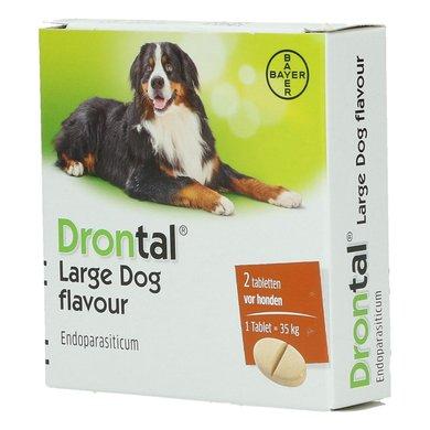 Drontal Large Dog Flavour  Tabletten