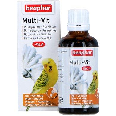 Beaphar Multi-Vit Papegaaien en Parkietn + Vit.A