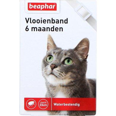 Beaphar Vlooienband kat wit 1st