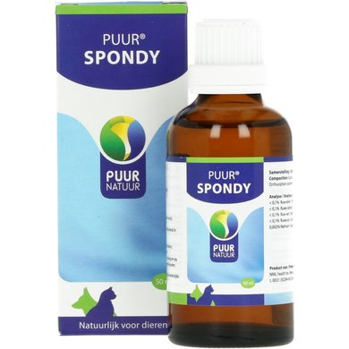 Puur Natuur Spondy Dog and Cat 50ml