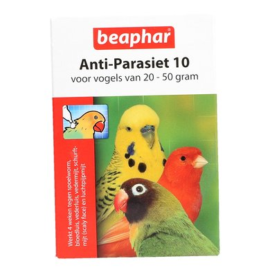 Beaphar Anti Parasite 10 Bird 2 Pcs