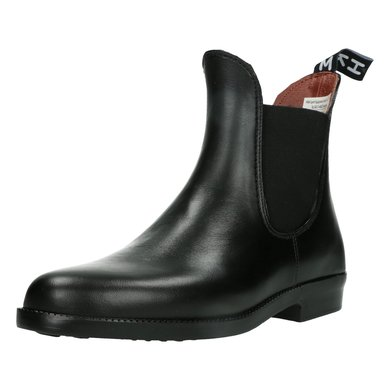 HKM Jodhpur Boots Soft Elasticated Vent Black