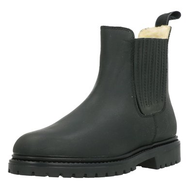 BR Winter Jodhpurs Alaska II Nubuck with a Rubber Sole Black