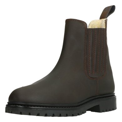 BR Winter Jodhpurs Alaska II Nubuck with a Rubber Sole Brown