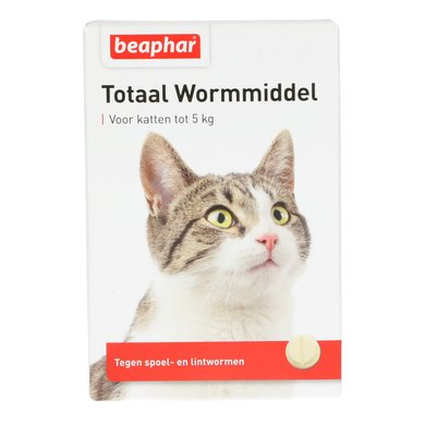 Beaphar Wormmiddel Totaal kat 10st
