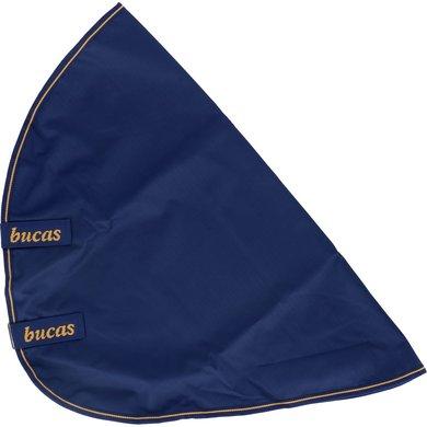 Bucas Irish Turnout Combi Neck Navy/Gold