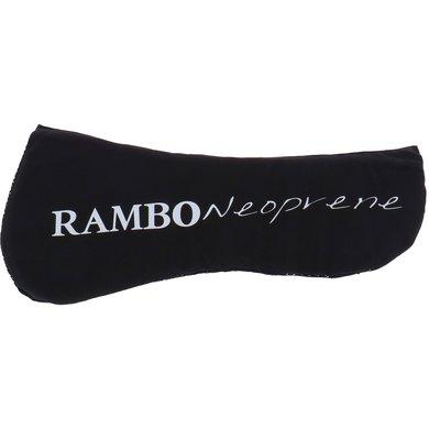 Rambo Neoprene Zadelonderlegger Zwart