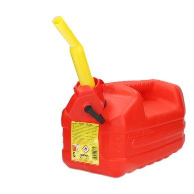 Eda Benzine jerrycan met tuit 5 liter