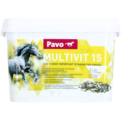 Pavo Vitamin Supplement Multivit 15 Bag 3kg