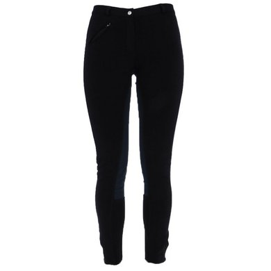 Pfiff Full Seat Breeches Black - Grey
