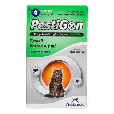 Pestigon Flea Treatment Spot-On Cat 4 Pipettes