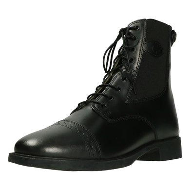 Kerbl Riding Half-boot with Lacing Monaco Black