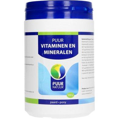 Puur Natuur Vita-min / Vitaminen Mineralen Paard/Pony 500g