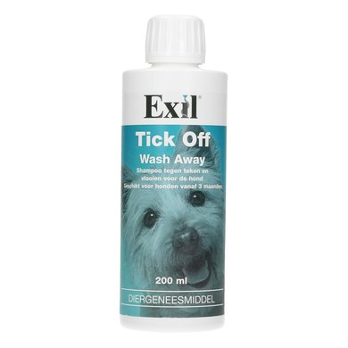Exil Tick Off Wash Away Shampoo 200ml