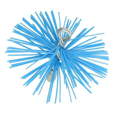 Dario Chimney Sweeping Brush Nylon Blue